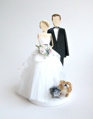 All Things Paper Wedding Cake Toppers An Interview With