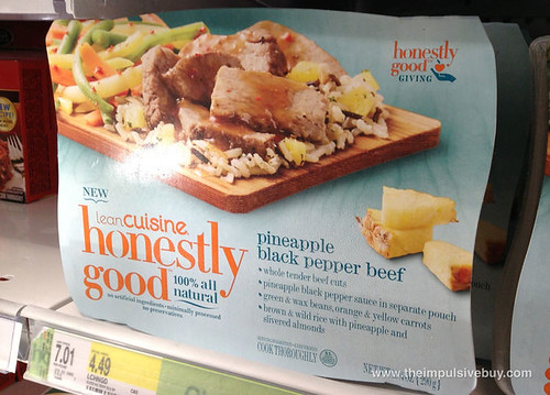 Lean Cuisine Honestly Good Pineapple Black Pepper Beef