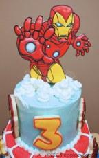 ironman cake topper