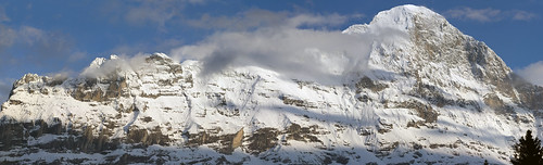 Panorama Eiger riesig