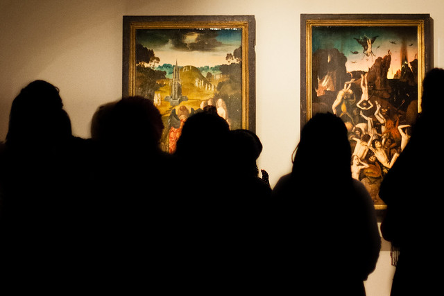 The Way to Paradise/Fall of the Damned, Dieric Bouts, Lille, France, Le Palais Des Beaux Arts