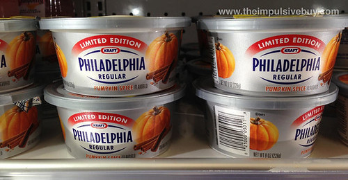 Kraft Limited Edition Philadelphia Pumpkin Spice Cream Cheese Spread