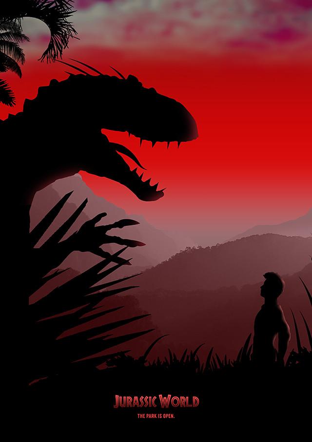 Jurassic World Poster Design