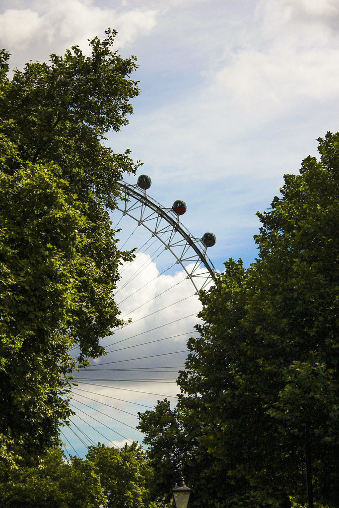 attraktioner i London - London Eye