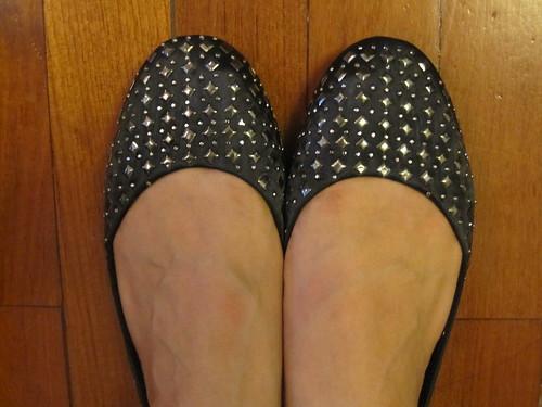 Larrie Studded Ballerina Flats