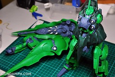 1-100 Kshatriya Neograde Version Colored Cast Resin Kit Straight Build Review (91)