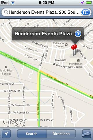 Henderson Events Plaza