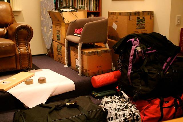 Thursday: packing, hard