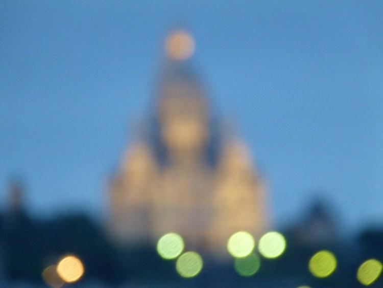 Blurry Sacre Coeur