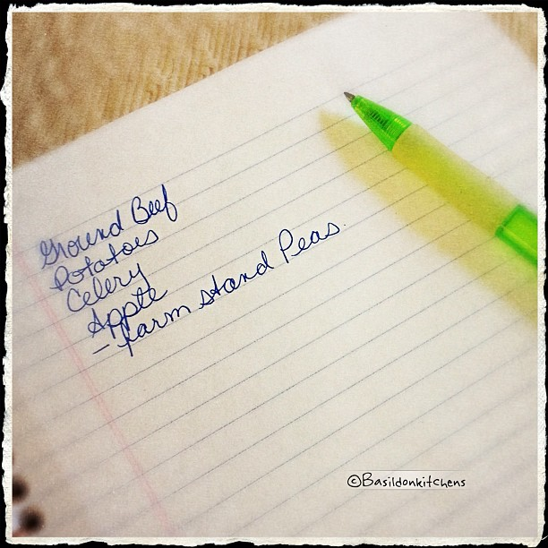 June 30 - handwriting {today's shopping list} #fmsphotoaday #handwriting #list