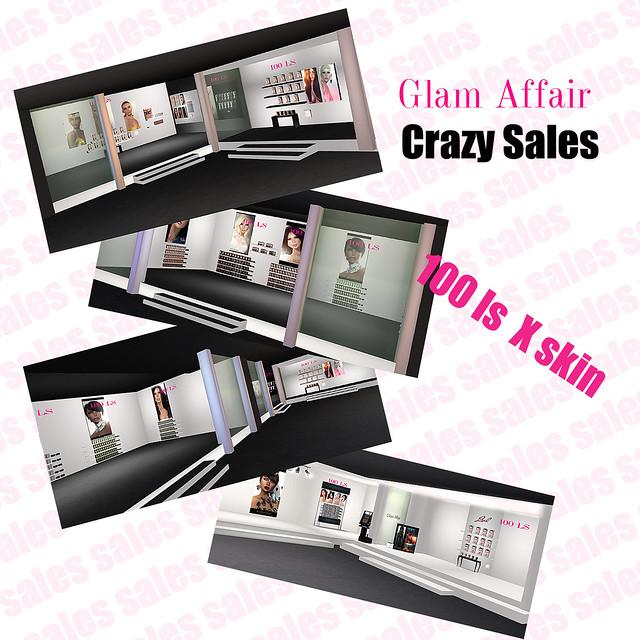 Glam Affair - Crazy Sales