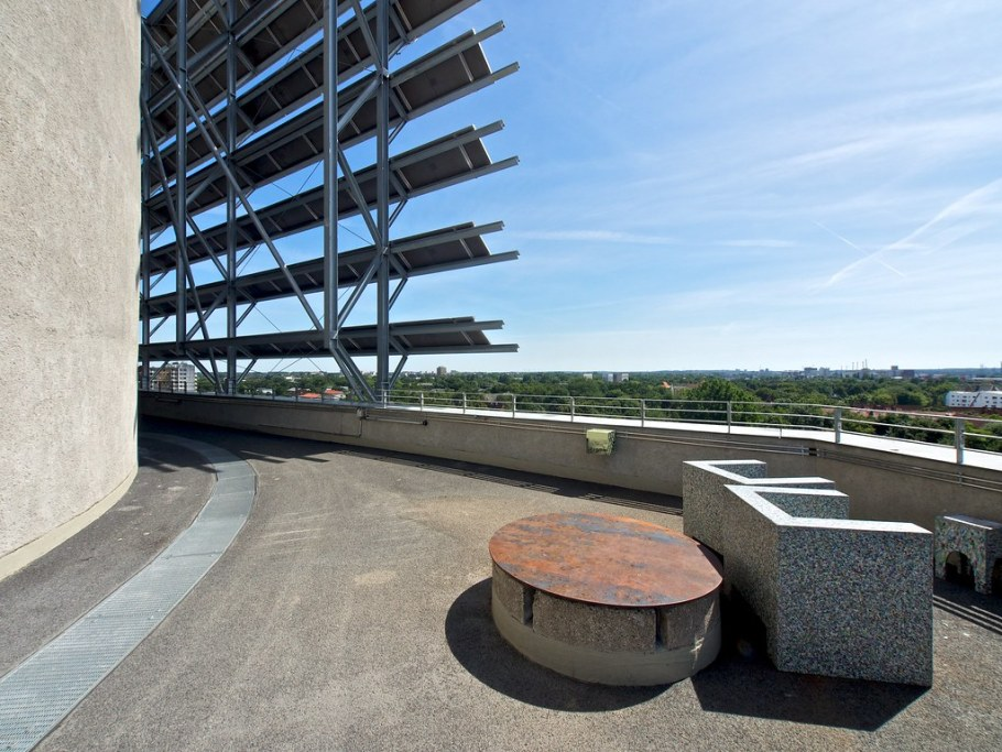 Dachterrasse Energiebunker