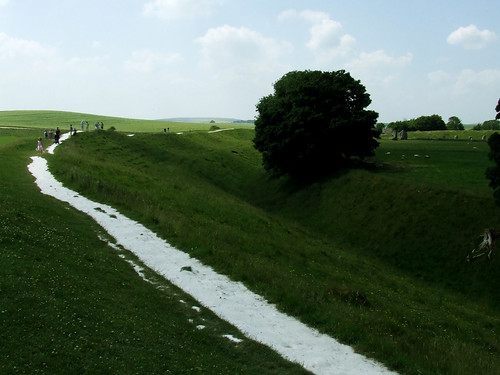 Avebury henge mound 2