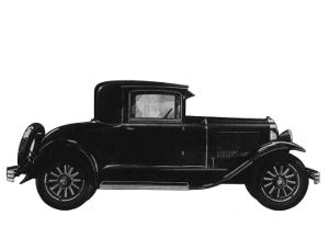 1928 Buick Coupe Model 26