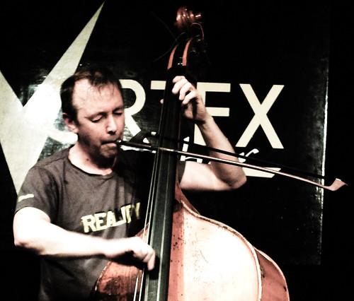 Evan Parker,John Edwards, John Russell @ the Vortex 19.4.12