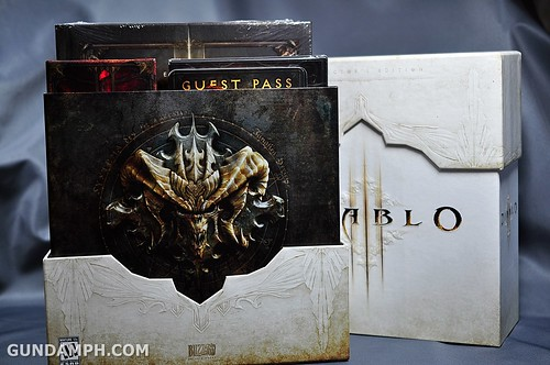 Diablo 3 Collector's Edition Unboxing Content Review Pictures GundamPH (9)