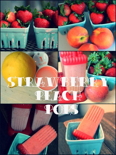 Cucina: Strawberry & Peach Pops