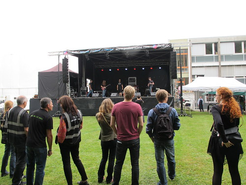 CERN staff band Music Festival