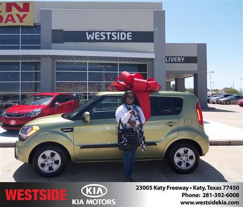 Westside Kia would like to wish a Happy Birthday to Elizabeth Onabajo! by Westside KIA