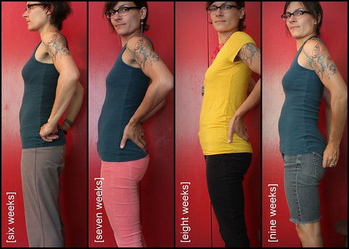 Bump Watch, 2013: Weeks 6-9.