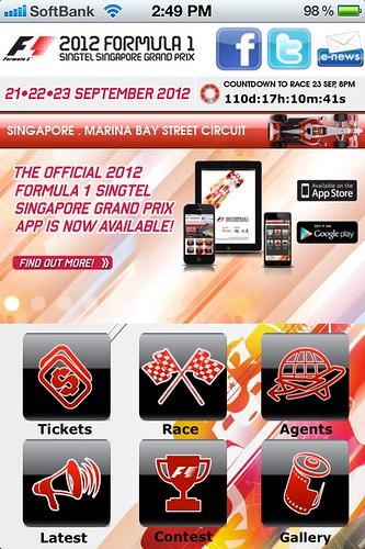 Singapore GP App