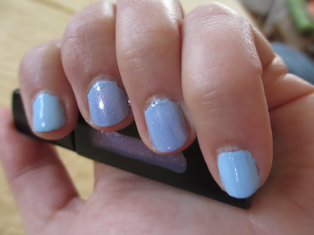 Mani with Julep Jessica and Brooke polishes.