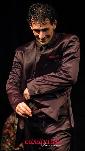 Miguel Téllez en nuestro tablao. Foto: Martín Guerrero