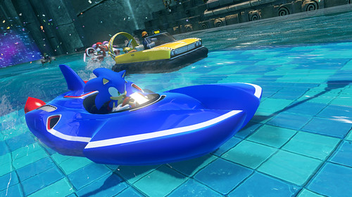 Sonic & All-Stars Racing Transformed - Boat