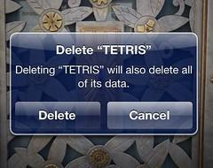 Delete Tetris