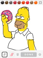 HOMER, Draw Something App