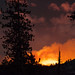 Rim Fire in Yosemite at 85mm