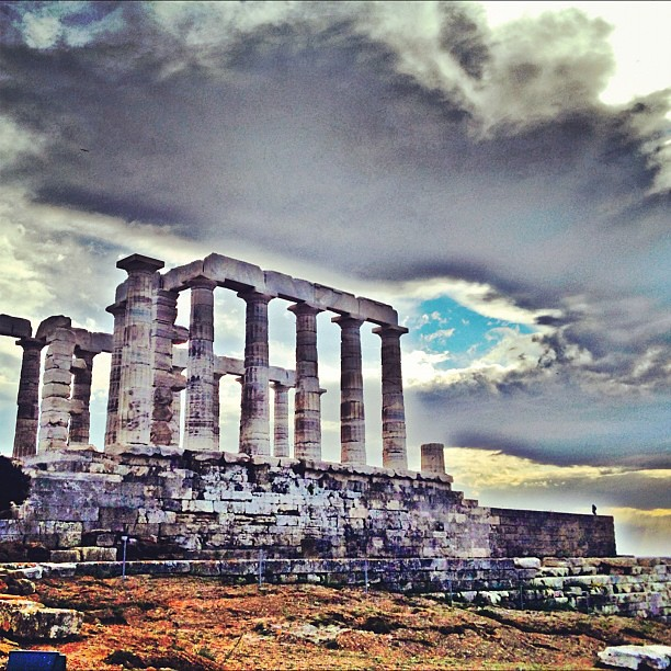 Temple of Poseidon in Sounio