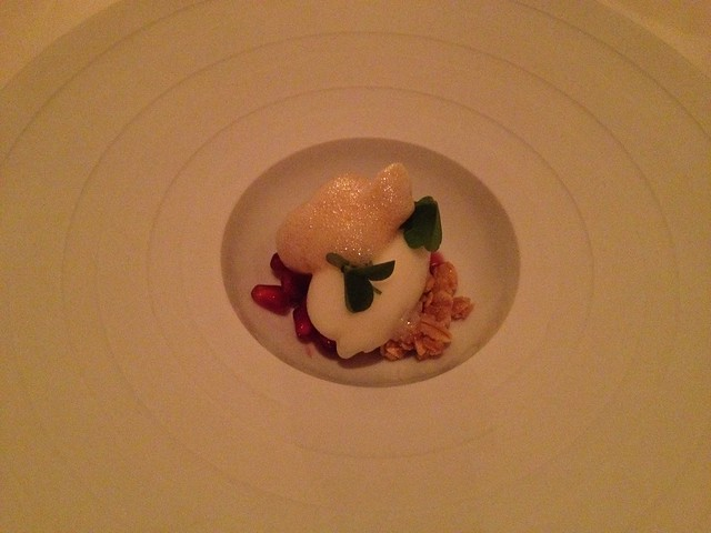 Cream yogurt sherbet - The French Laundry