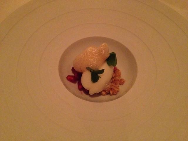 Cream yogurt sherbet - The French Laundry