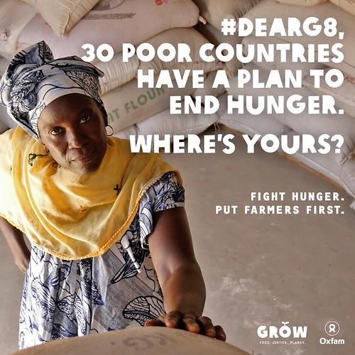 #DearG8: 30 poor countries have a plan to end hunger. Where's yours?