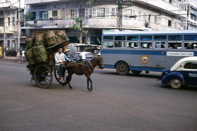 Saigon 1966 - Đường Trần Hưng Đạo Chợ Lớn
