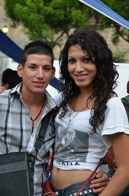 Transexual couple