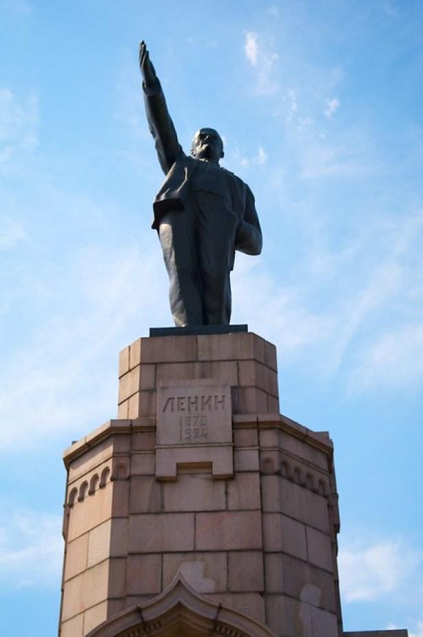 Памятник Ленину, Кострома, Россия, Золотое кольцо