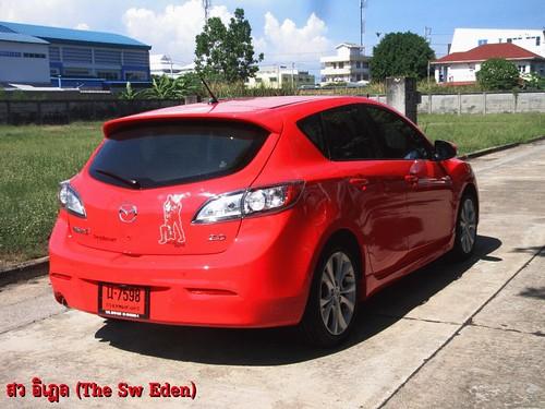 Mazda 3 True Red