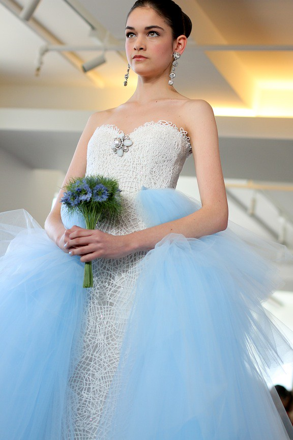 Oscar de la Renta Bridal 2013 111