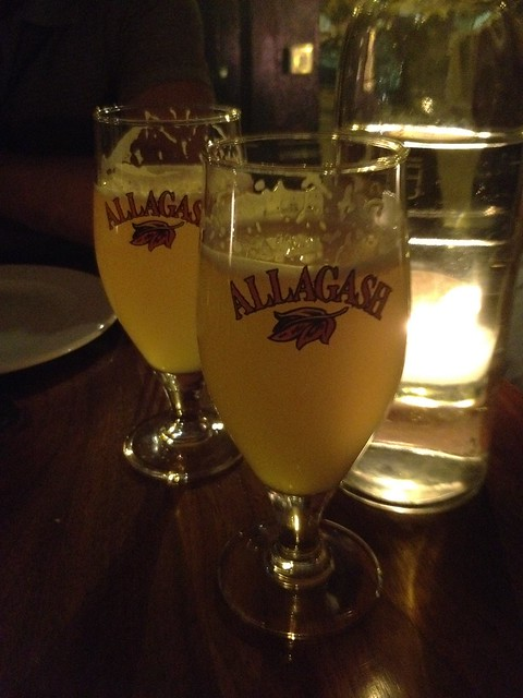 Allagash White ale - Bar Tartine