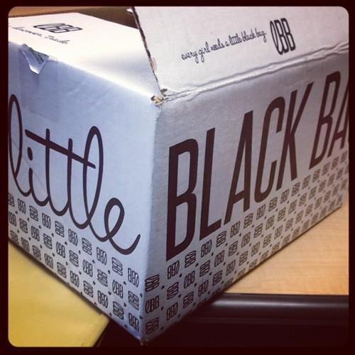 Little Black Bag delivery!!!