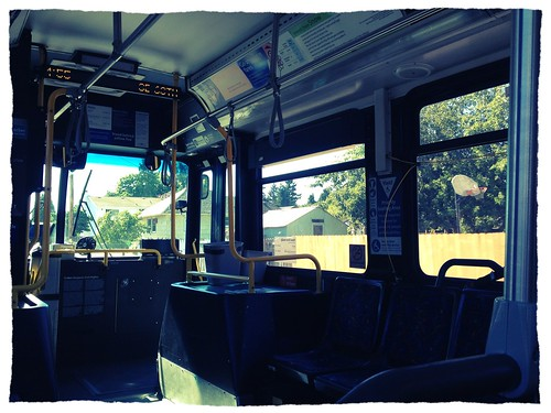 Portland's public transport is fabulous but expensive.  Five smackers for one-day pass!