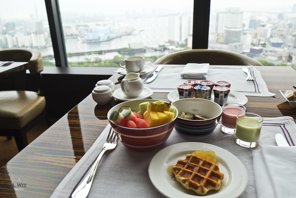 Breakfast with a Bay View