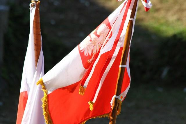 Banderas de Polonia
