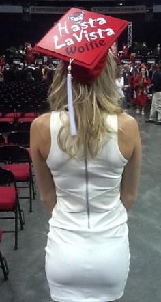 NC State – Decorated Graduation Cap