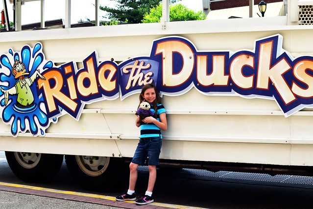 Caitlin and the Duck (and Otto)