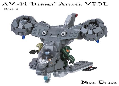 """AV-14 """"Hornet"""" Attack VTOL"""