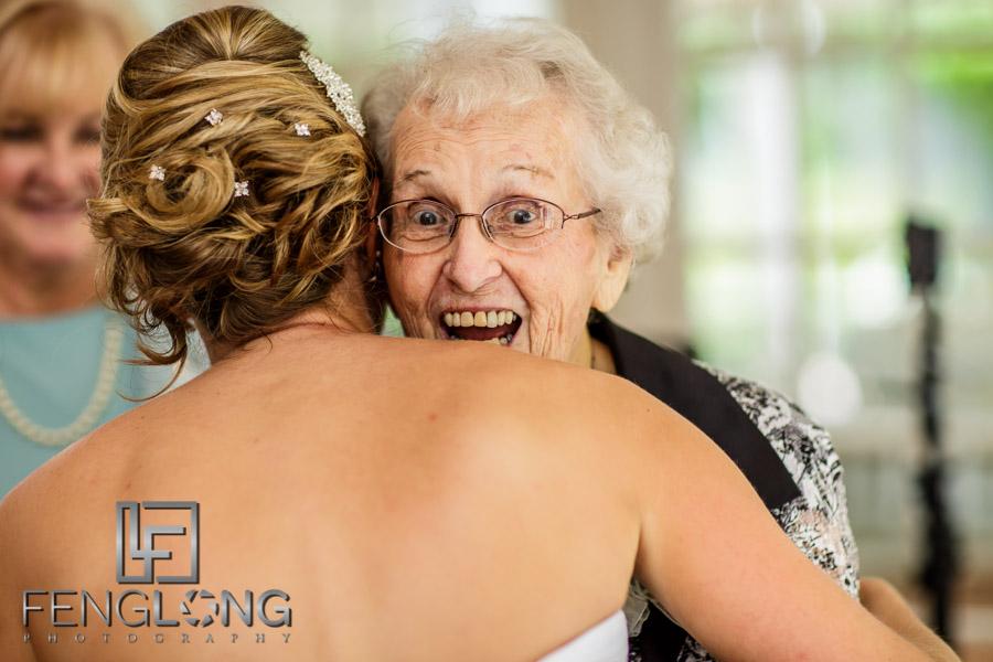 Grandmother dances
