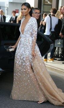 Chanel Iman Cannes Hotel Amfar
